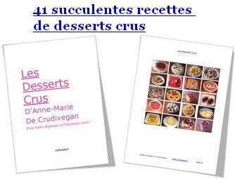 Image du livre Dessert crus