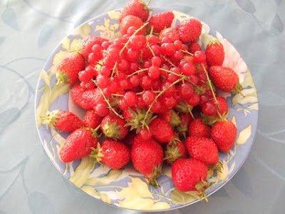 fraises réduites