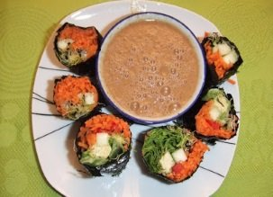 Les sushis crus… miam miam !