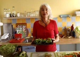 Des crêpes crues ? oui, avec des légumes !