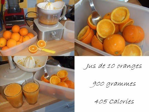 jus d'oranges du matin