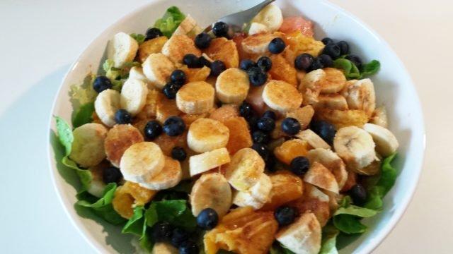 repas du midi : salade de fruits