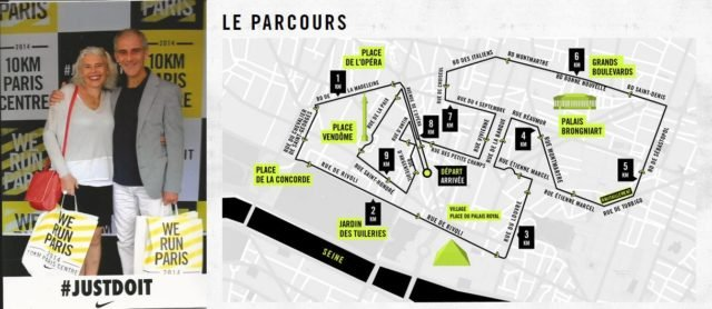 les 10 km de Paris Centre !