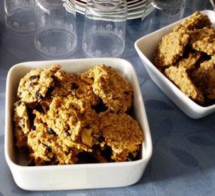 Cookies crus , 2 recettes