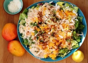 Ma salade de noix de coco fraîche