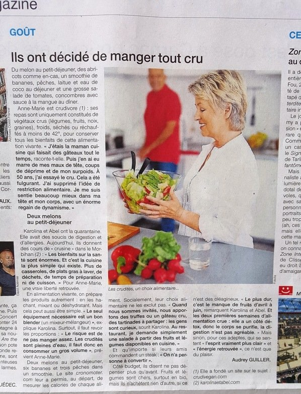 ouest france article