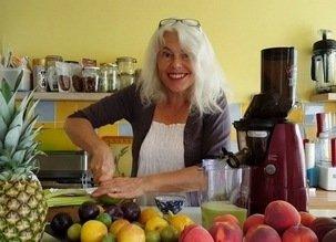 Le jus de légumes-fruits que je bois le matin (en revenant de courir)