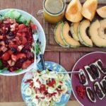 4 recettes crues, du marché à la table