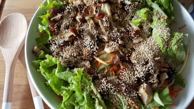 salade shiitake article 27 oct