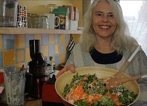 Crudivore en janvier : Repas crus avec des fruits et des légumes