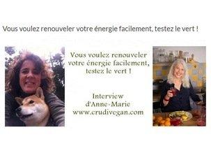 Retrouver son énergie-interview de Crudivegan par Angélique Beyer