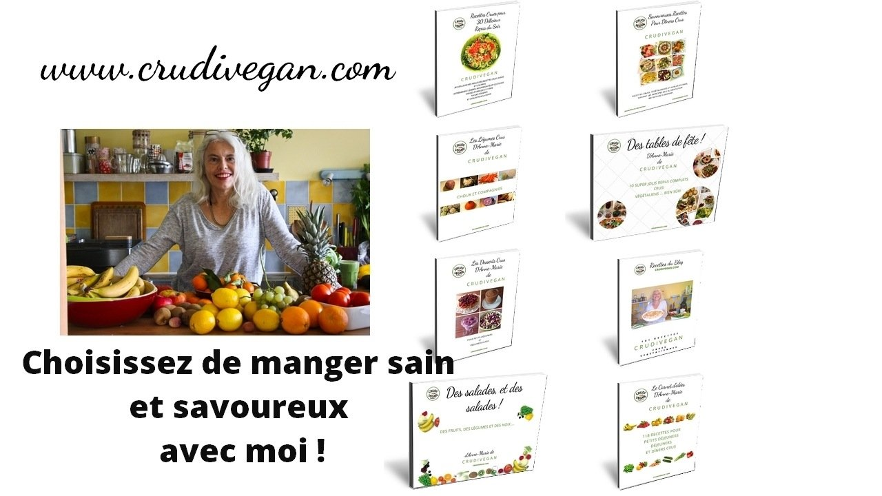 les Ebooks Crudivegan