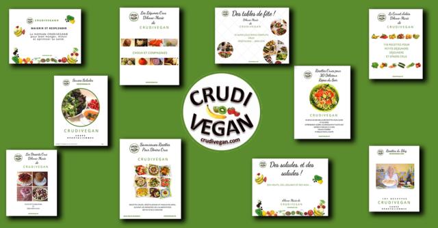 ebooks de recettes crues curdivegan