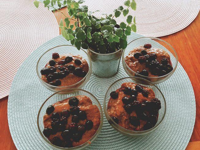 Pudding de Chia au chocolat