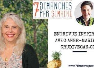 Alimentation, création, dynamique de vie, passion, tous mes petits secrets dans une entrevue sincère et naturelle !