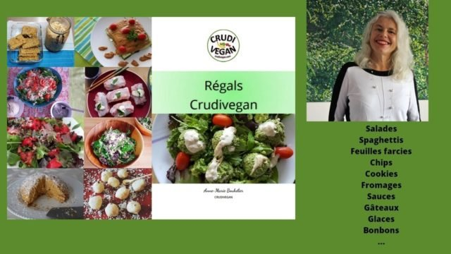 Nouvel Ebook Régals Crudivegan
