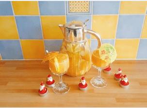 Cocktail aux fruits pétillant