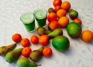 Délicieux jus vert de légumes et de fruits – Votre concentré de nutriments !