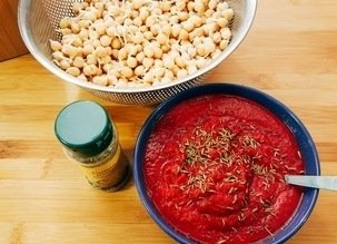 Soupe rouge protéinée Crudivegan, crue ou mi-crue