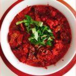 Bortsch végétarien et cru, vite faite en 10 minutes chrono