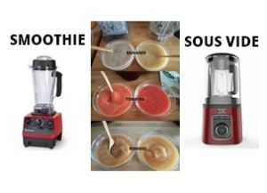 smoothie sous vide