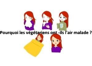 végétariens sont-ils malades