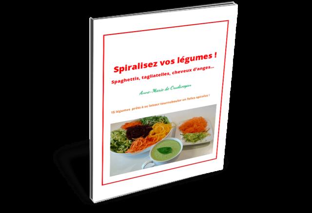 spiralisez vos légumes