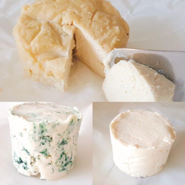 fromages végétaux crudivegan