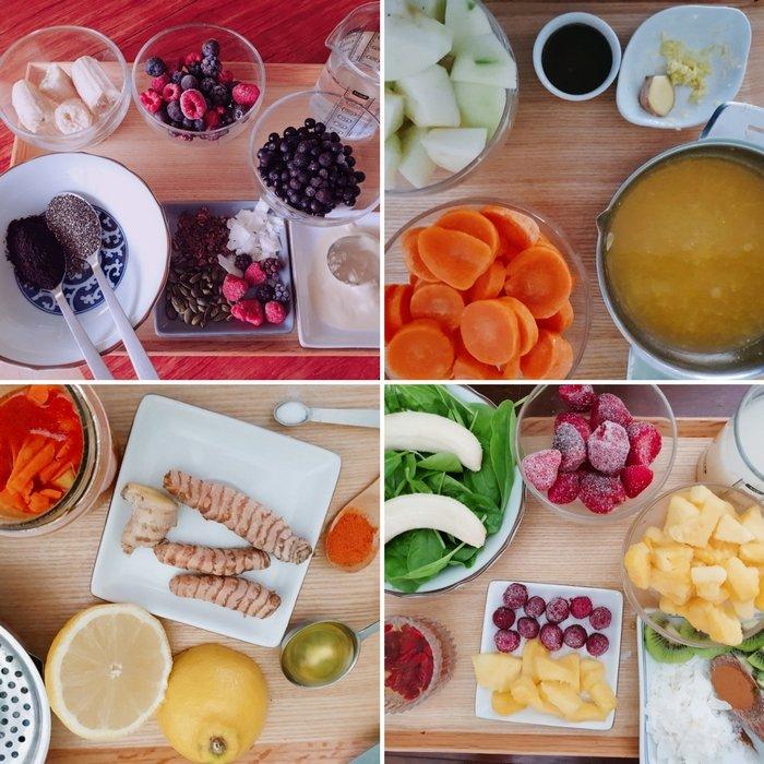 ingrédients pour soigner son rhume